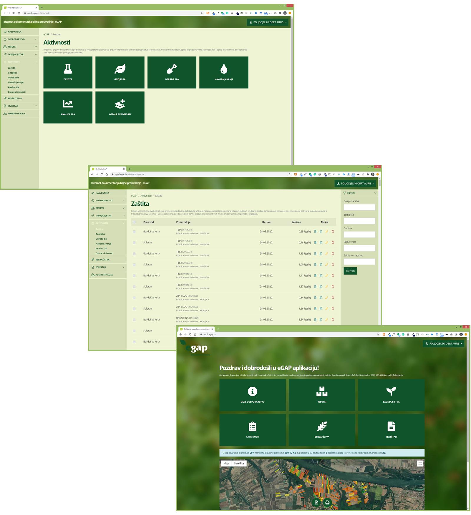 Od 01. studenog 2020 stiže nova verzija eGAP aplikacije za dokumentiranje poljoprivredne proizvodnje