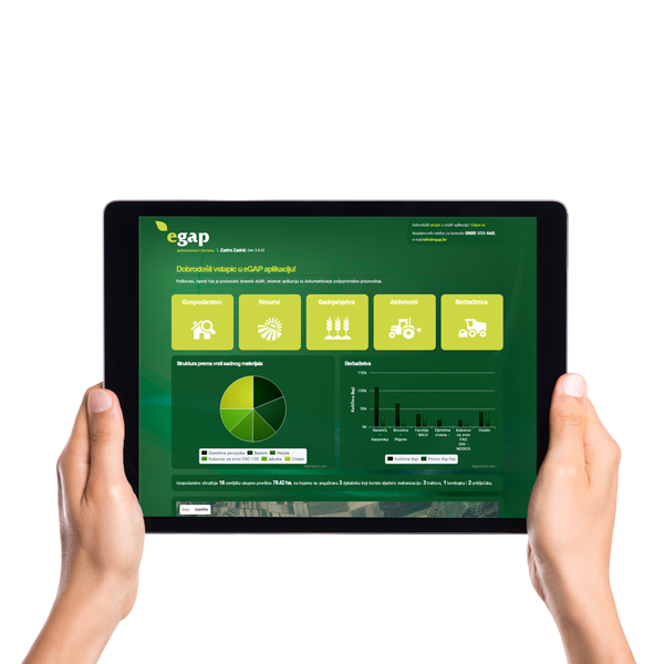 Prva online aplikacija za dokumentiranje poljoprivredne proizvodnje